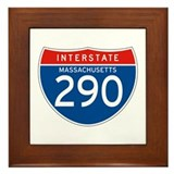 Interstate 290 - MA Framed Tile