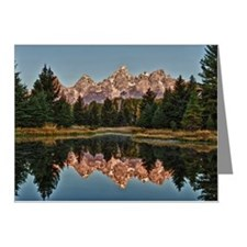 Reflection of Grand Teton at Note Cards (Pk of 20)