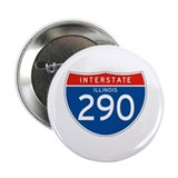 "Interstate 290 - IL 2.25"" Button (10 pack)"