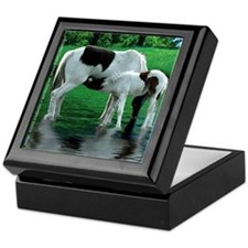 Horse Reflections Keepsake Box
