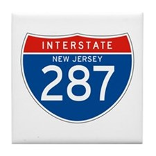 Interstate 287 - NJ Tile Coaster