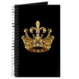 Fleur de lis Crown Jewels Journal