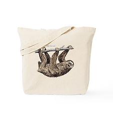 Three-Toed Sloth Tote Bag