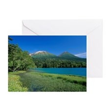 Mount Akan-fuji, Mount M Greeting Cards (Pk of 10)