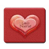 I heart L&D Nurse Mousepad