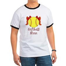 Softball mom red head T-Shirt