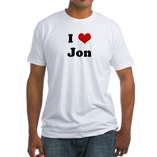 I Love Jon Shirt
