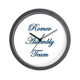 Romeo Assembly Wall Clock