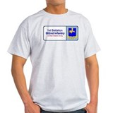 1st Battalion 502nd Infantry Ash Grey T-Shirt
