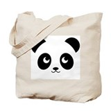 panda smile copy.png Tote Bag