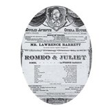 Romeo and Juliet #2 Oval Ornament