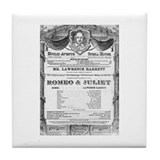 Romeo and Juliet #2 Tile Coaster