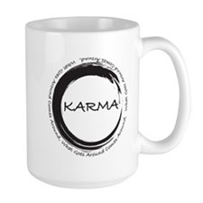 Karma, What goes around comes around Mug
