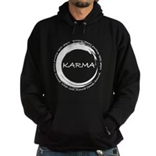 Karma, What goes around comes around Hoodie