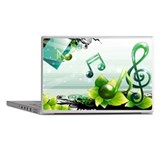 Musical note vector Laptop Skins