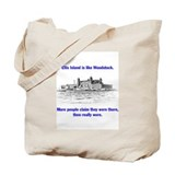 Ellis Island is like Woodstock Tote Bag