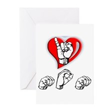 I love MOM Greeting Cards (Pk of 10)