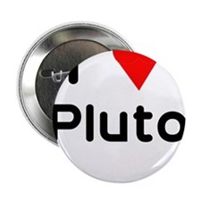 "I heart Pluto 2.25"" Button (10 pack)"