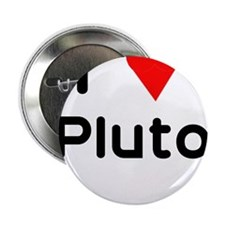 I heart Pluto Button