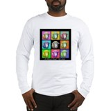 Long Sleeve T-Shirt with Sheep Art