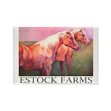 Estock Farms Rectangle Magnet (10 pack)