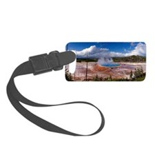 Grand prismatic spring, Yellowst Luggage Tag