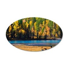 Autumn colors at Kanas, Xinj Wall Decal