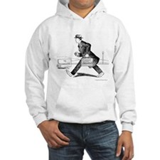 Vintage Man Road to Success Work Hoodie