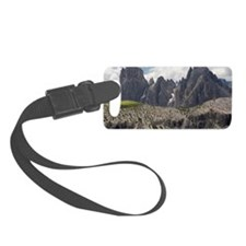 Dolomite mountain range Luggage Tag