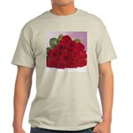 Red Rose Bouquet Ash Grey T-Shirt