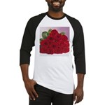 Red Rose Bouquet Baseball Jersey