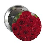 Red Rose Bouquet Button