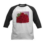 Red Rose Bouquet Kids Baseball Jersey