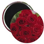 Red Rose Bouquet Magnet