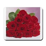 Red Rose Bouquet Mousepad