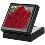Red Rose Bouquet Keepsake Box