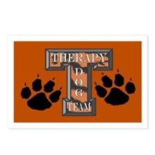 Therapy Dog Team Postcards (Package of 8)