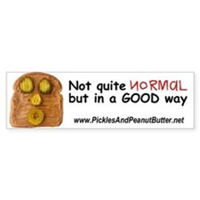 Pickle Whistle Bumper Bumper Sticker