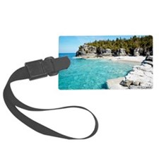 Blue water Luggage Tag