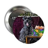 "Schnauzer Christmas Sabrina 2.25"" Button (10 pack)"