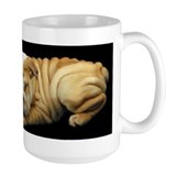 Wrinkly Bulldog puppy mug