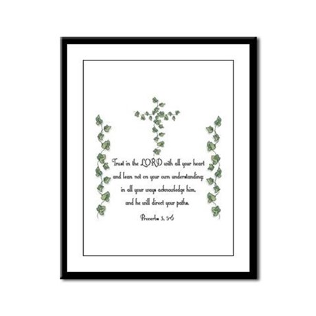 Proverbs Framed Panel Print