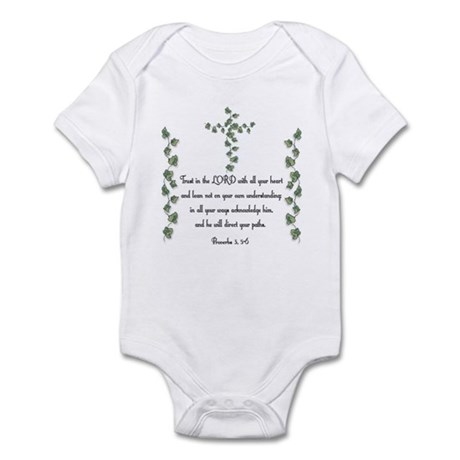 Proverbs Infant Bodysuit