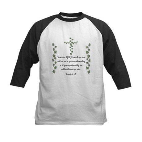 Proverbs Kids Baseball Jersey
