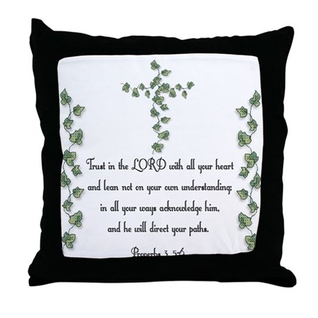 Proverbs Throw Pillow
