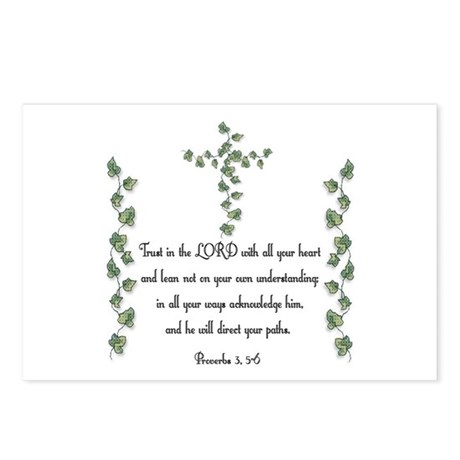 Proverbs Postcards (Package of 8)