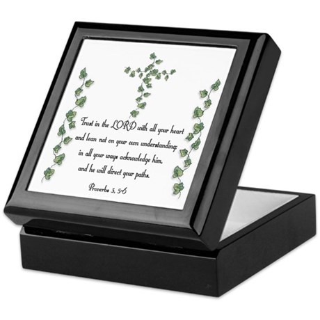 Proverbs Keepsake Box