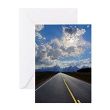 National Park highway Greeting Card