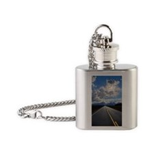 National Park highway Flask Necklace