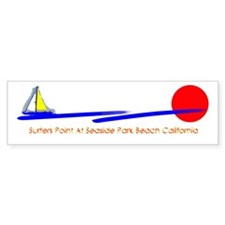 Surfers Point Bumper Bumper Sticker